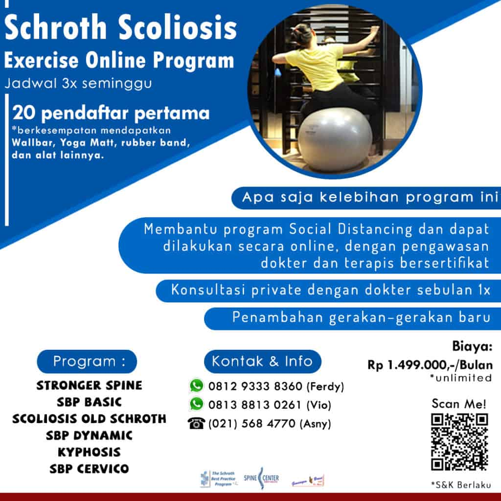 PROGRAM SCOLIOSIS EXERCISE ONLINE