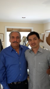With dr. David Cuccia, Founder of the 3D Spinal Decompression Extentrac, New York