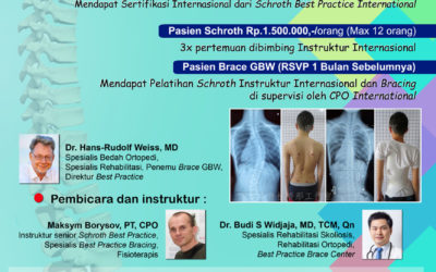 WORKSHOP Schroth Best Practice Indonesia
