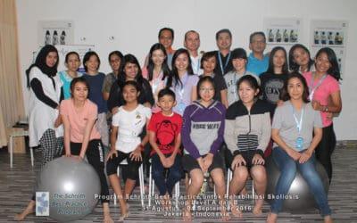 Workshop Scoliosis Schroth Best Practice di Jakarta, 31 Agustus – 4 September 2016  berjalan sukses