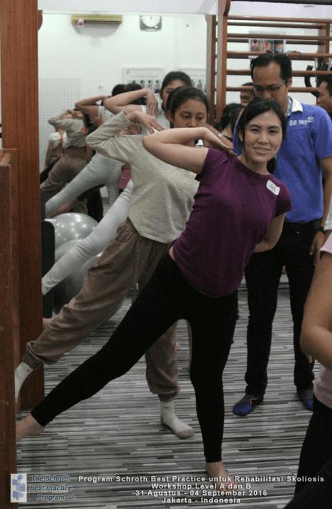 Workshop Scoliosis Rehabilitation
