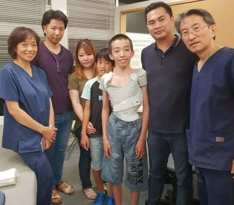 Lima kesamaan pasien Skoliosis di Korea, Jepang, China, dan Malaysia