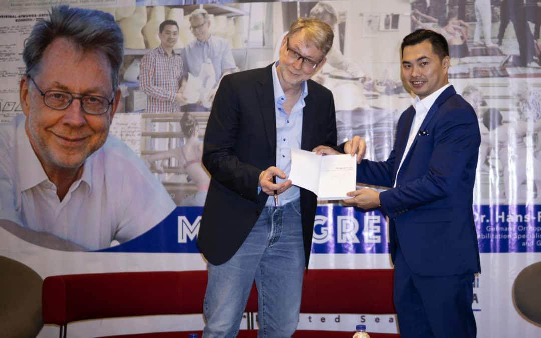 Liputan Acara Meet and Greet Dr. Hans-Rudolf Weiss