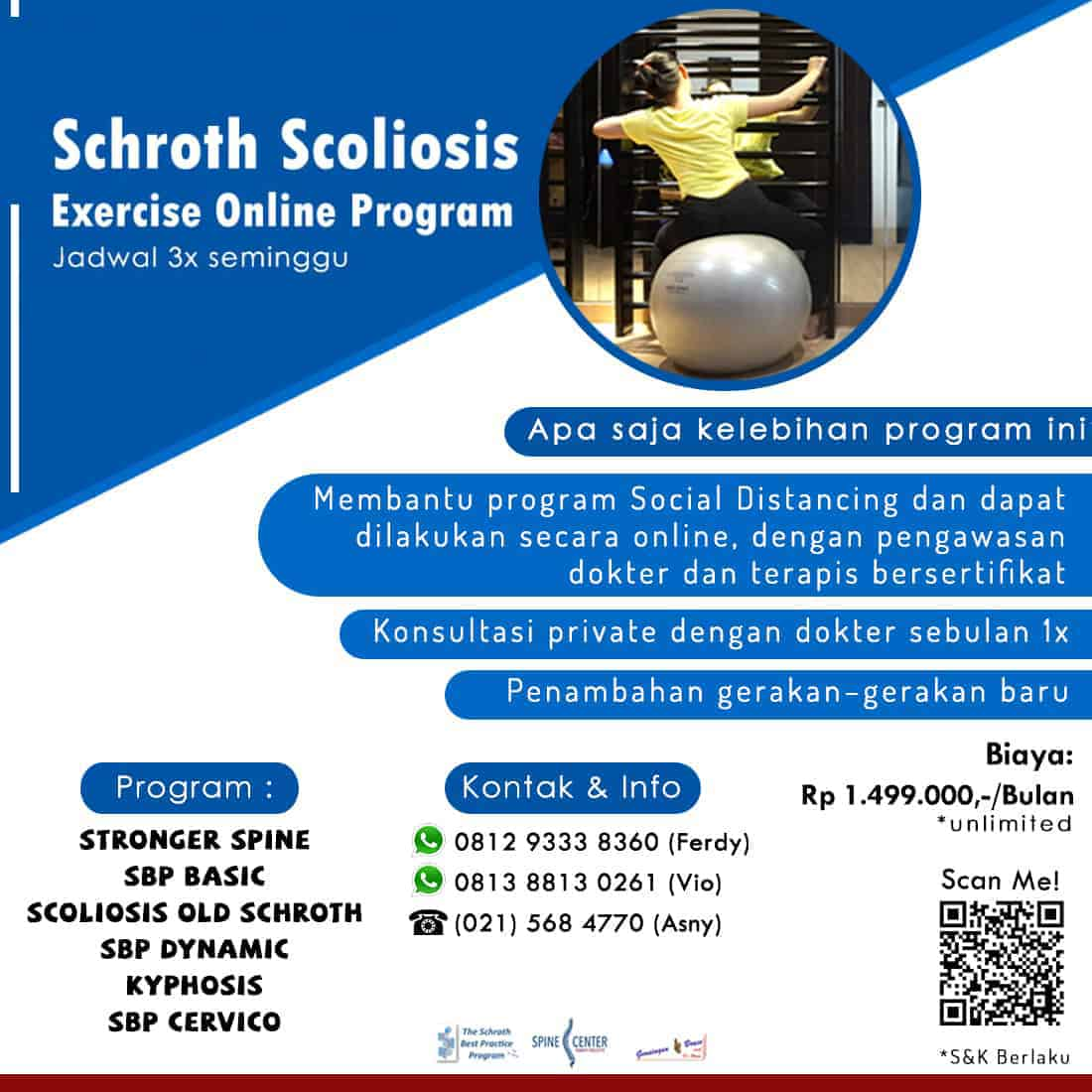 terapi skoliosis online